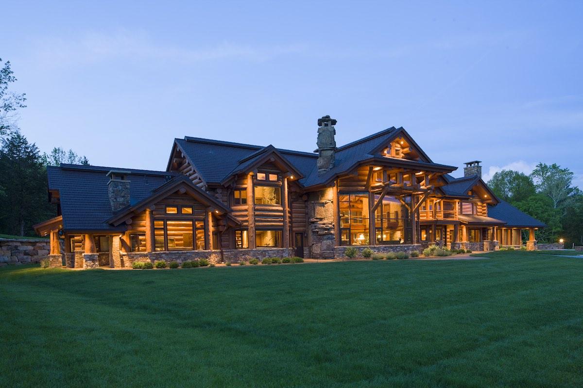 Indiana Log Home
